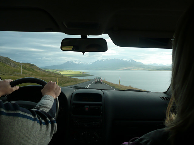 Road into Akureyri