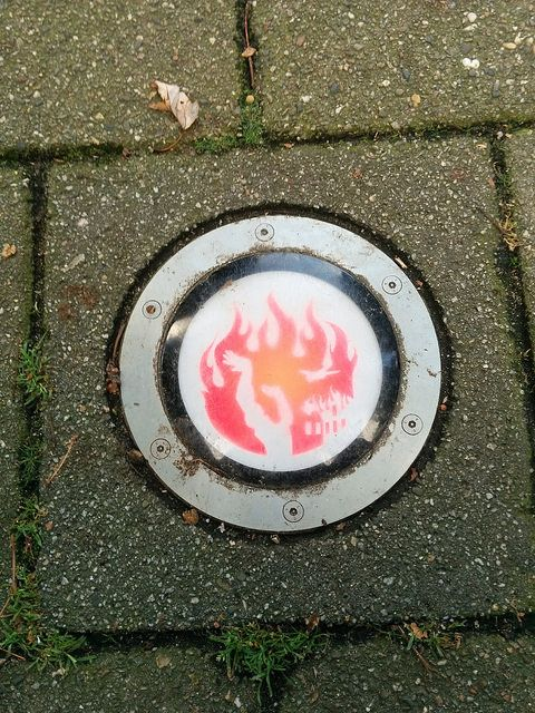 The fire boundary of Rotterdam